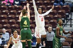 NCAA Women's Basketball AAC Quarterfinals - #4 Houston 55 vs. #5 USF 72 (24)