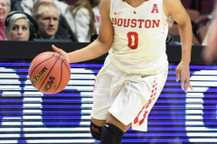 NCAA Women's Basketball AAC Quarterfinals - #4 Houston 55 vs. #5 USF 72 (25)