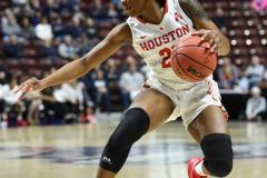 NCAA Women's Basketball AAC Quarterfinals - #4 Houston 55 vs. #5 USF 72 (32)