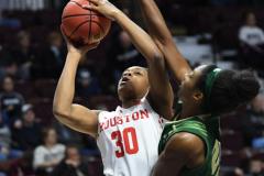 NCAA Women's Basketball AAC Quarterfinals - #4 Houston 55 vs. #5 USF 72 (33)