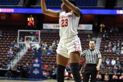 NCAA Women's Basketball AAC Quarterfinals - #4 Houston 55 vs. #5 USF 72 (35)