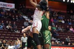 NCAA Women's Basketball AAC Quarterfinals - #4 Houston 55 vs. #5 USF 72 (36)