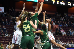 NCAA Women's Basketball AAC Quarterfinals - #4 Houston 55 vs. #5 USF 72 (38)