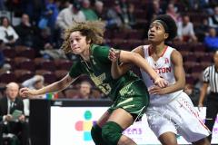NCAA Women's Basketball AAC Quarterfinals - #4 Houston 55 vs. #5 USF 72 (41)