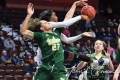 NCAA Women's Basketball AAC Quarterfinals - #4 Houston 55 vs. #5 USF 72 (42)
