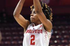 NCAA Women's Basketball AAC Quarterfinals - #4 Houston 55 vs. #5 USF 72 (43)
