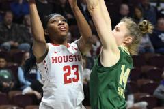 NCAA Women's Basketball AAC Quarterfinals - #4 Houston 55 vs. #5 USF 72 (46)