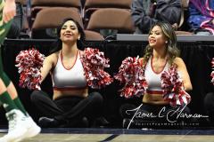 NCAA Women's Basketball AAC Quarterfinals - #4 Houston 55 vs. #5 USF 72 (47)
