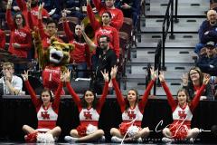 NCAA Women's Basketball AAC Quarterfinals - #4 Houston 55 vs. #5 USF 72 (49)