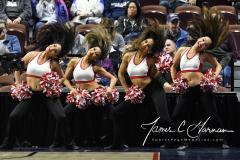 NCAA Women's Basketball AAC Quarterfinals - #4 Houston 55 vs. #5 USF 72 (50)