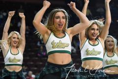 NCAA Women's Basketball AAC Quarterfinals - #4 Houston 55 vs. #5 USF 72 (68)