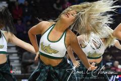NCAA Women's Basketball AAC Quarterfinals - #4 Houston 55 vs. #5 USF 72 (69)