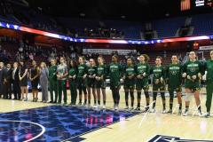 NCAA Women's Basketball AAC Quarterfinals - #4 Houston 55 vs. #5 USF 72 (7)