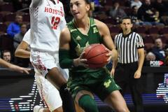 NCAA Women's Basketball AAC Quarterfinals - #4 Houston 55 vs. #5 USF 72 (74)