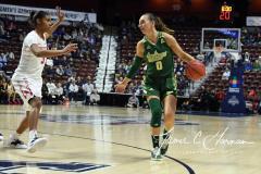 NCAA Women's Basketball AAC Quarterfinals - #4 Houston 55 vs. #5 USF 72 (76)