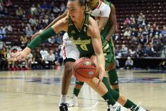 NCAA Women's Basketball AAC Quarterfinals - #4 Houston 55 vs. #5 USF 72 (77)