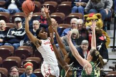 NCAA Women's Basketball AAC Quarterfinals - #4 Houston 55 vs. #5 USF 72 (78)