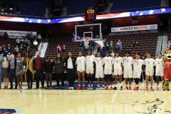 NCAA Women's Basketball AAC Quarterfinals - #4 Houston 55 vs. #5 USF 72 (8)