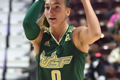 NCAA Women's Basketball AAC Quarterfinals - #4 Houston 55 vs. #5 USF 72 (80)