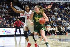 NCAA Women's Basketball AAC Quarterfinals - #4 Houston 55 vs. #5 USF 72 (81)