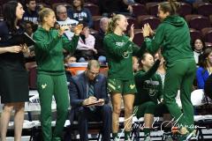 NCAA Women's Basketball AAC Quarterfinals - #4 Houston 55 vs. #5 USF 72 (83)