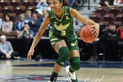 NCAA Women's Basketball AAC Quarterfinals - #4 Houston 55 vs. #5 USF 72 (93)