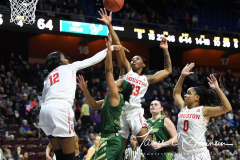 NCAA Women's Basketball AAC Quarterfinals - #4 Houston 55 vs. #5 USF 72 (95)