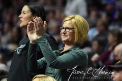 NCAA Women's Basketball AAC Quarterfinals - #4 Houston 55 vs. #5 USF 72 (96)