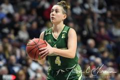 NCAA Women's Basketball AAC Quarterfinals - #4 Houston 55 vs. #5 USF 72 (98)
