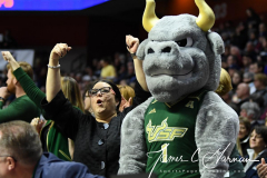 NCAA Women's Basketball AAC Quarterfinals - #4 Houston 55 vs. #5 USF 72 (99)