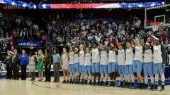 NCAA Women's Basketball AAC Tournament SF's - #1 UConn 82 vs. #5 Tulane 35- Photo (18)