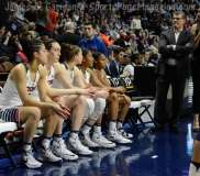 NCAA Women's Basketball AAC Tournament SF's - #1 UConn 82 vs. #5 Tulane 35- Photo (21)