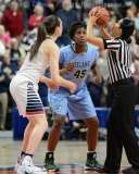 NCAA Women's Basketball AAC Tournament SF's - #1 UConn 82 vs. #5 Tulane 35- Photo (22)