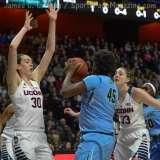 NCAA Women's Basketball AAC Tournament SF's - #1 UConn 82 vs. #5 Tulane 35- Photo (27)