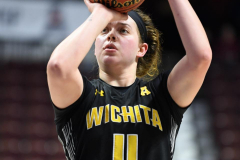 NCAA Women's Basketball AAC Tournament 1st Round - #7 Tulsa 61 vs. #10 Wichita State 50 (101)