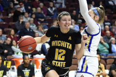 NCAA Women's Basketball AAC Tournament 1st Round - #7 Tulsa 61 vs. #10 Wichita State 50 (102)