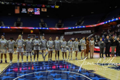 NCAA Women's Basketball AAC Tournament 1st Round - #7 Tulsa 61 vs. #10 Wichita State 50 (11)
