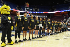 NCAA Women's Basketball AAC Tournament 1st Round - #7 Tulsa 61 vs. #10 Wichita State 50 (12)