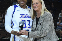 NCAA Women's Basketball AAC Tournament 1st Round - #7 Tulsa 61 vs. #10 Wichita State 50 (18)
