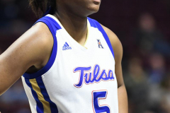 NCAA Women's Basketball AAC Tournament 1st Round - #7 Tulsa 61 vs. #10 Wichita State 50 (24)