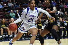 NCAA Women's Basketball AAC Tournament 1st Round - #7 Tulsa 61 vs. #10 Wichita State 50 (29)