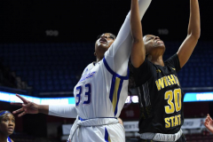 NCAA Women's Basketball AAC Tournament 1st Round - #7 Tulsa 61 vs. #10 Wichita State 50 (31)