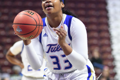 NCAA Women's Basketball AAC Tournament 1st Round - #7 Tulsa 61 vs. #10 Wichita State 50 (32)