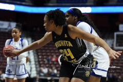 NCAA Women's Basketball AAC Tournament 1st Round - #7 Tulsa 61 vs. #10 Wichita State 50 (38)