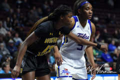 NCAA Women's Basketball AAC Tournament 1st Round - #7 Tulsa 61 vs. #10 Wichita State 50 (39)