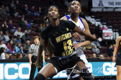 NCAA Women's Basketball AAC Tournament 1st Round - #7 Tulsa 61 vs. #10 Wichita State 50 (40)