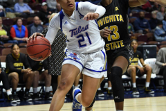 NCAA Women's Basketball AAC Tournament 1st Round - #7 Tulsa 61 vs. #10 Wichita State 50 (41)
