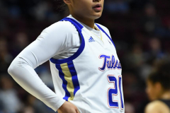 NCAA Women's Basketball AAC Tournament 1st Round - #7 Tulsa 61 vs. #10 Wichita State 50 (42)