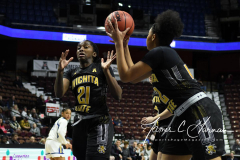 NCAA Women's Basketball AAC Tournament 1st Round - #7 Tulsa 61 vs. #10 Wichita State 50 (46)