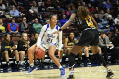 NCAA Women's Basketball AAC Tournament 1st Round - #7 Tulsa 61 vs. #10 Wichita State 50 (47)